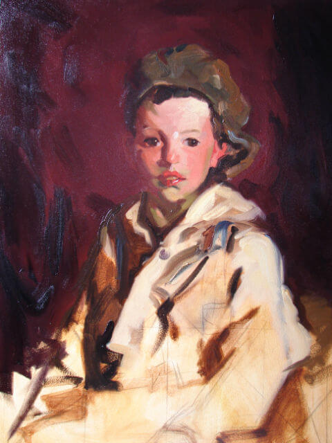 "Copy of Robert Henri's ""Johnny Manning"""