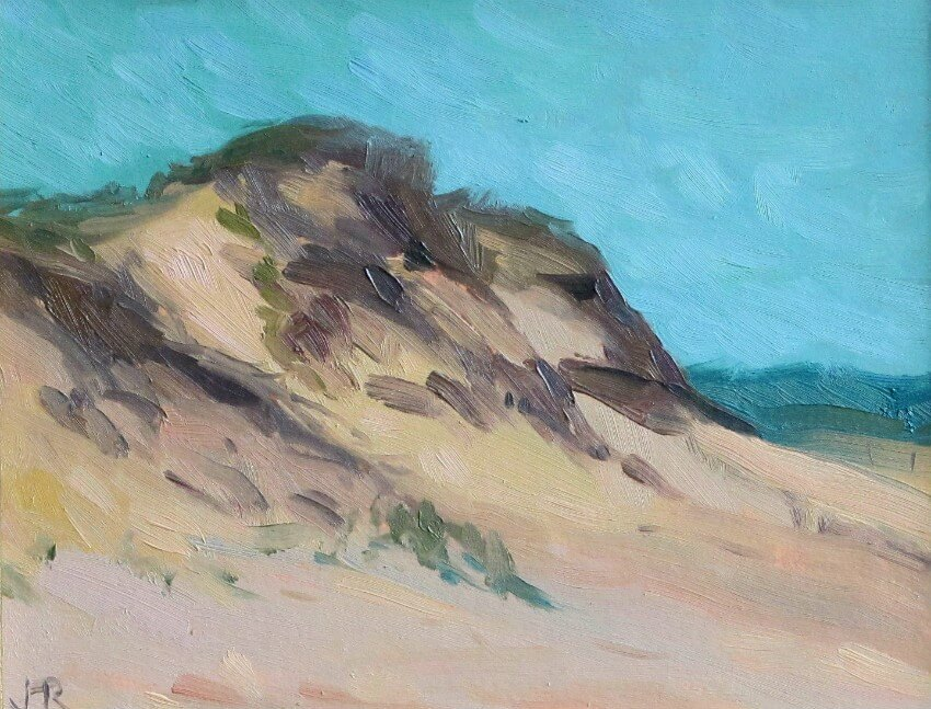 Beach Head, Cape Cod, a painting by Judith Reeve