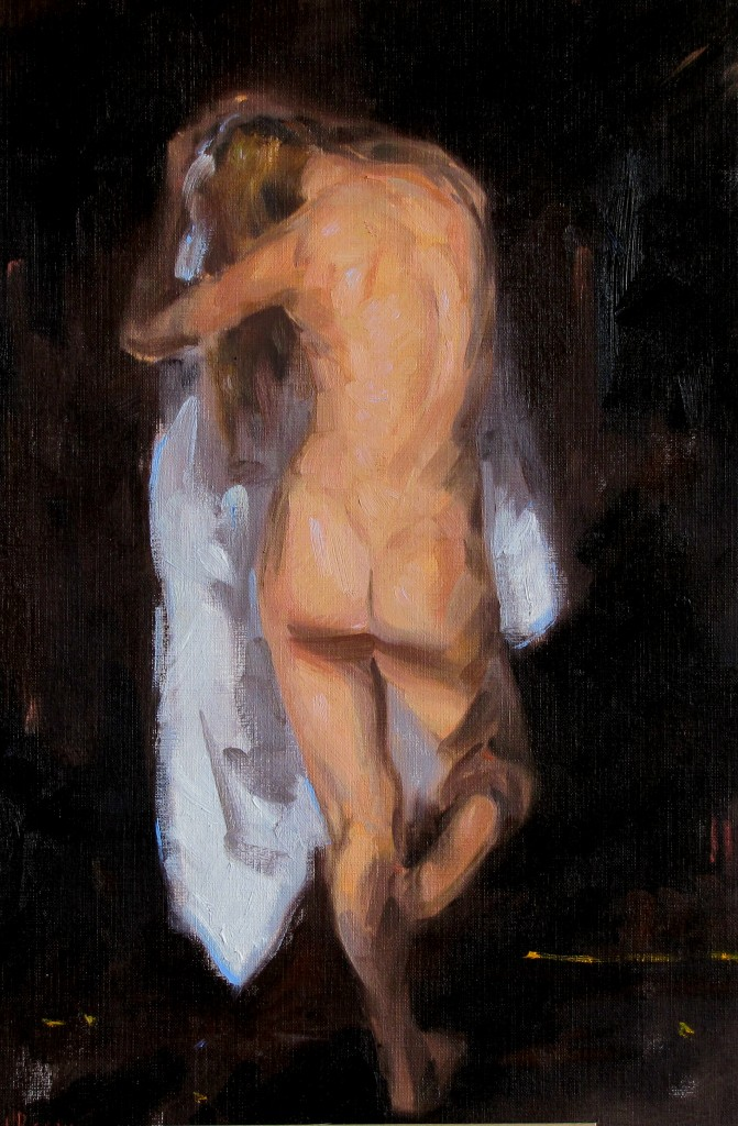 Figure with White Drape2